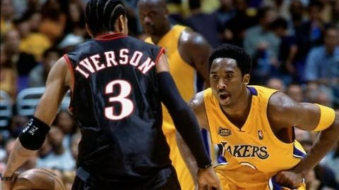 2001: Los Angeles Lakers in 5 over the Philadelphia 76ers