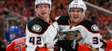 Playoff Roundup: Ducks even series, shorthanded Penguins take 3-1 lead