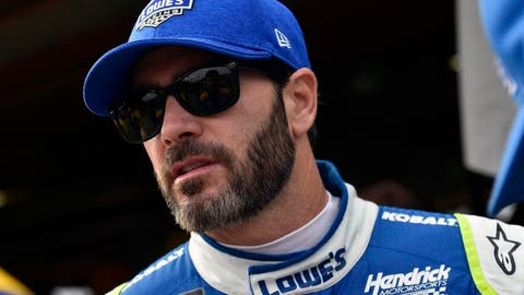 Jimmie Johnson, +1