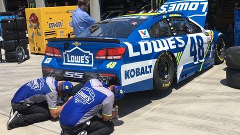 NASCAR RaceDay, Sunday, 11:30 a.m., FS1