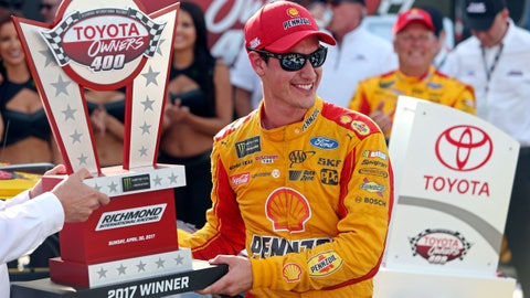 Joey Logano, 333 (6 playoff points)