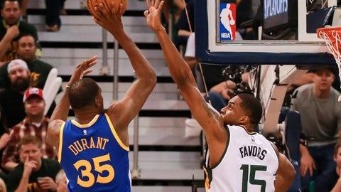 Best scorer: Kevin Durant