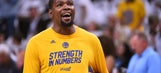Kevin Durant says the NBA's lack of parity isn't his fault