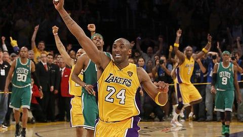 2010: Lakers beat Celtics