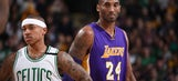 Celtics star Isaiah Thomas says Kobe Bryant has been giving him tips in the playoffs