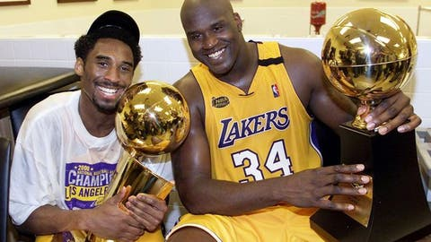 2000 Los Angeles Lakers (67-15, 15-8)