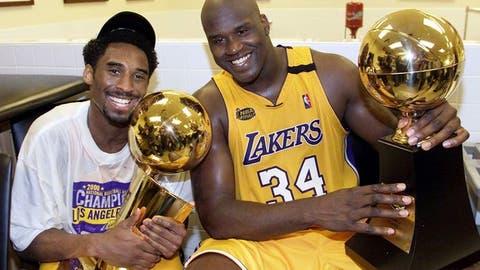 2000 Los Angeles Lakers (67-15, 15-8)