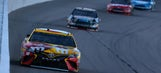 Top 10 drivers after Stage 2 at Kansas Speedway
