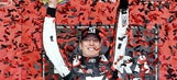 Kyle Busch nabs NCWTS win at Kansas when Ben Rhodes blows engine