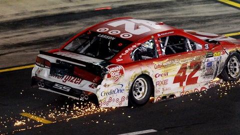 Bad luck for Larson
