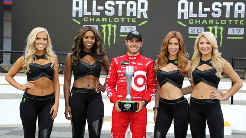 All-Star Race front row