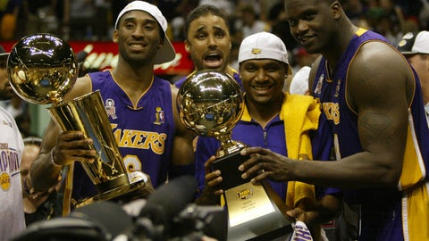 2002 Los Angeles Lakers (58-24, 15-4)