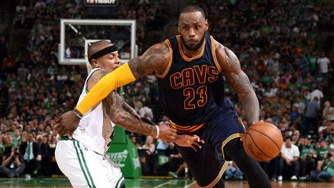 First team: F LeBron James, Cavaliers