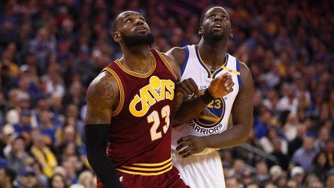 Rebounding: LeBron James