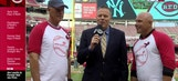 Former Red Joe Price speaks on Angioma Alliance at Great American Ballpark