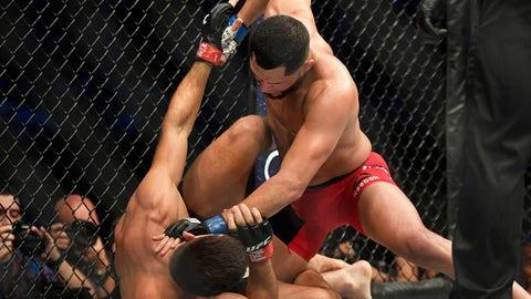 Demian Maia defeats Jorge Masvidal via split decision
