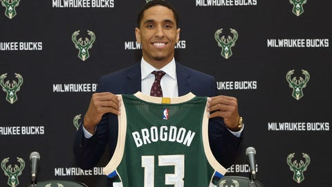 June 23, 2016: Drafted Malcolm Brogdon in 2nd round (No. 36 overall)