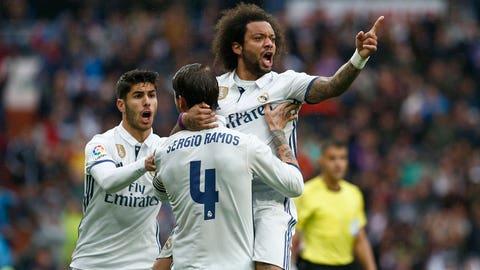 Left back: Marcelo