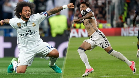 Marcelo vs. Dani Alves