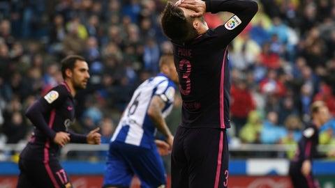 March 12: Deportivo la Coruna 2-1 Barcelona