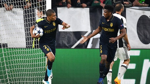 It had to be Kylian Mbappe