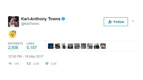 Karl-Anthony Towns, Wolves center