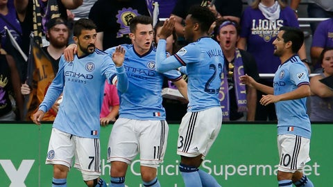 New York City FC are road warriors