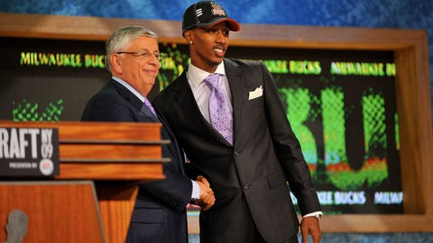 June 25, 2009: Drafted Brandon Jennings at No. 10 overall