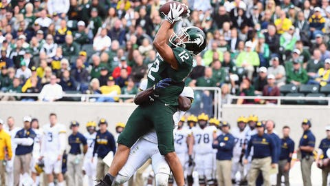 R.J. Shelton, WR (Michigan State)