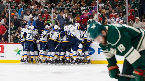 Low Point: Losing in playoffs to Mike Yeo, Blues