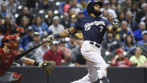 Milwaukee Brewers: Eric Thames
