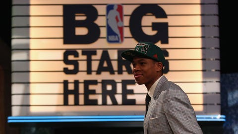 June 27, 2013: Drafted Giannis Antetokounmpo No. 15 overall
