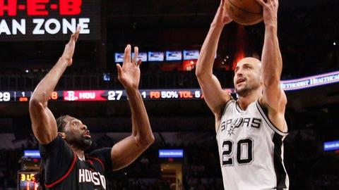 Game 2: San Antonio Spurs vs. Houston Rockets