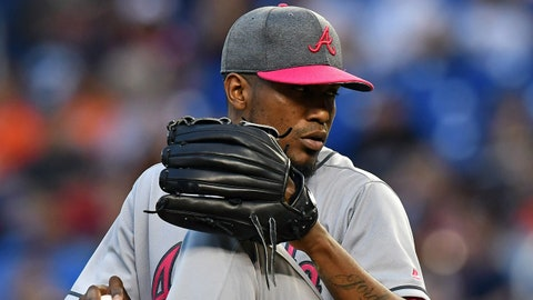 2. Julio Teheran's an All-Star on the road, but at home is another story