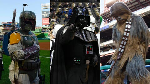 Feel the Force: Re-casting Star Wars with Braves figures