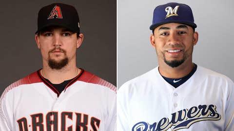 Today's starting pitchers: RHP Zack Godley vs. RHP Junior Guerra