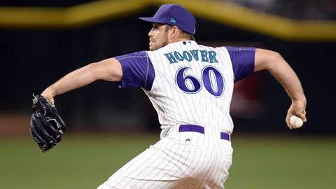J.J. Hoover: 1-0, 2.57 ERA