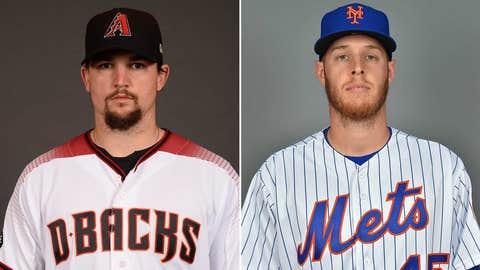 Today's starting pitchers: RHP Zack Godley vs. RHP Zack Wheeler