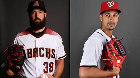 Starting pitchers: LHP Robbie Ray vs. LHP Gio Gonzalez