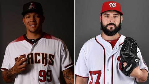 Starting pitchers: RHP Taijuan Walker vs. RHP Tanner Roark