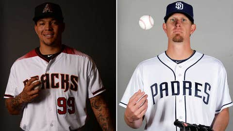 Today's starting pitchers: RHP Taijuan Walker vs. RHP Jered Weaver