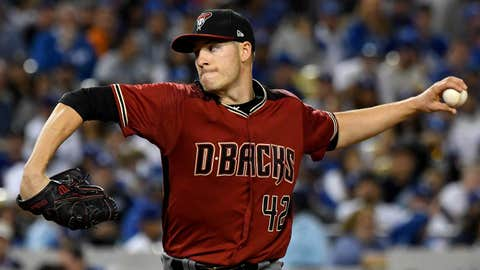 D-backs starting pitcher Patrick Corbin (2-4, 3.89 ERA)