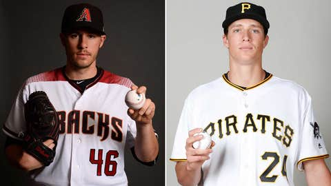 Today's starting pitchers: LHP Patrick Corbin vs. RHP Tyler Glasnow