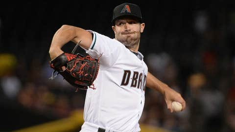 D-backs starting pitcher Robbie Ray (2-1, 3.56 ERA)