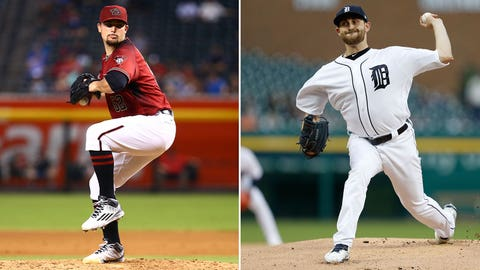 Today's starting pitchers: RHP Zack Godley vs. LHP Matt Boyd
