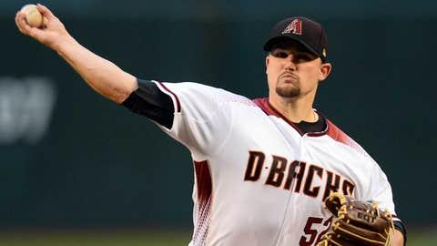 D-backs starting pitcher Zack Godley (1-0, 2.25 ERA)