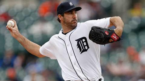 Tigers starting pitcher Justin Verlander (2-2, 4.21 ERA)