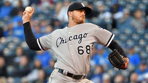 White Sox starting pitcher Dylan Covey (0-3, 7.64 ERA)