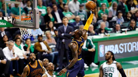 2-point shooting: LeBron James