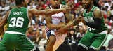 Wizards dominate Celtics, even series at 2-2